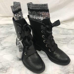 Sam Edelman Circus Combat Boots NWOT Size 8.5
